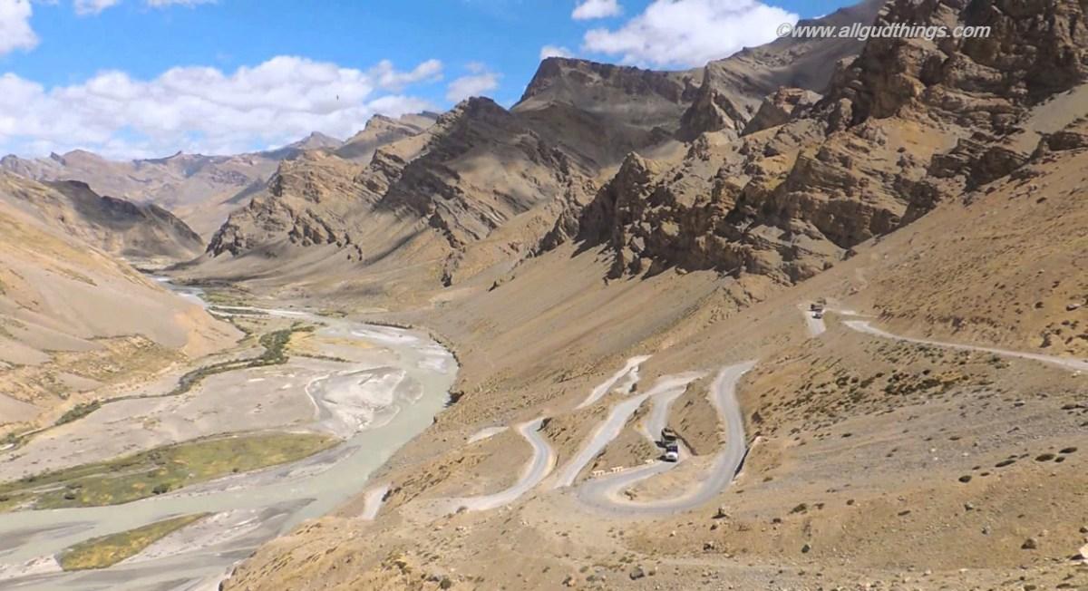 Gata Loops - Leh ladakh road trip from Delhi
