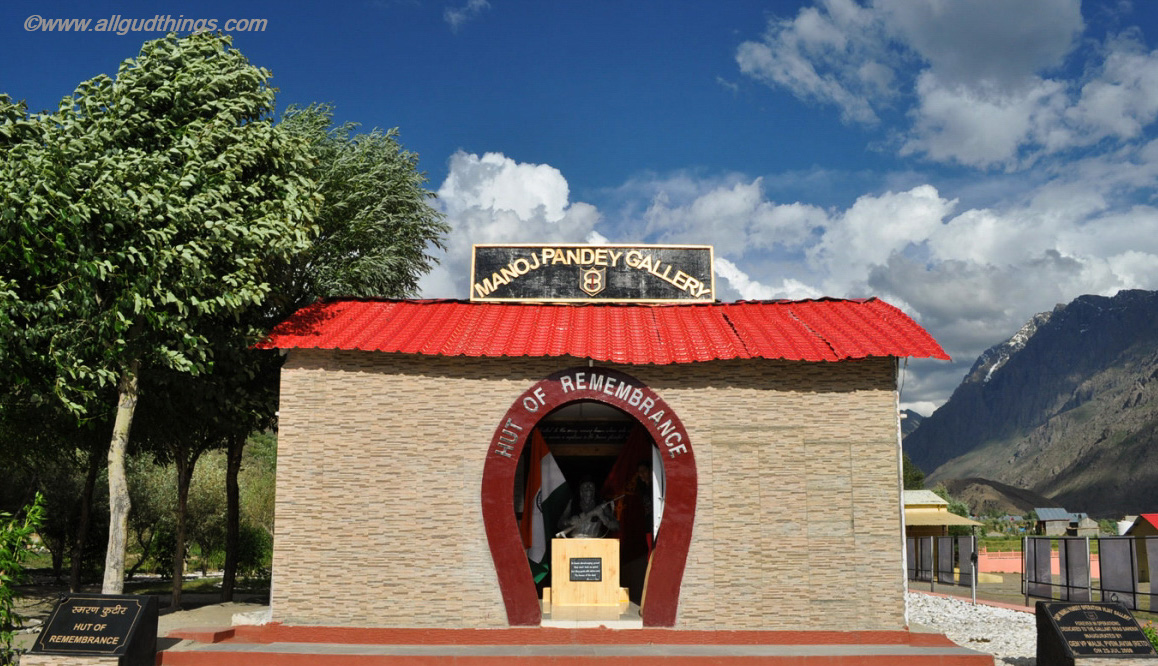 Manoj Pandey Gallery at Kargil War Memorial