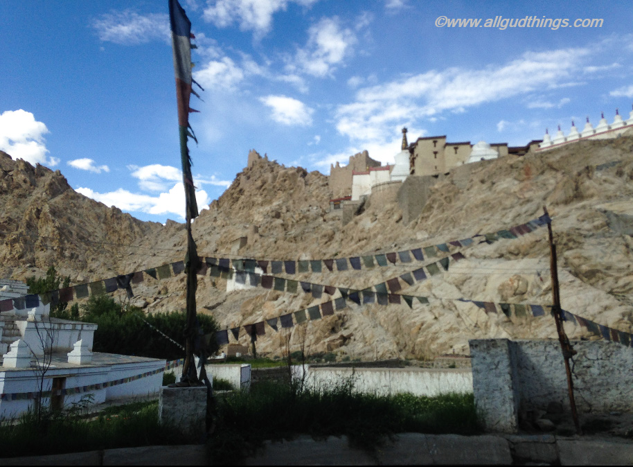 Shey Palace and ruins of Fortress from village Shey : 6 must visit Leh Ladakh Palace before they disappear