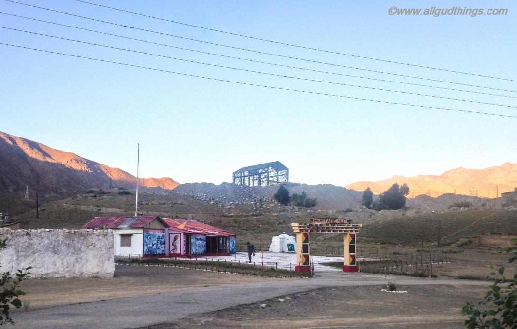 The Heritage Hut at Kargil- Kargil War Memorial
