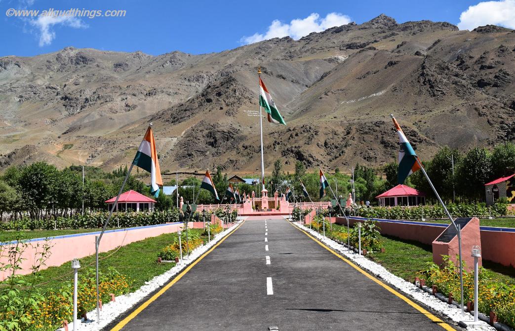 Vijaypath at Drass War Memorial /Kargil War Memorial