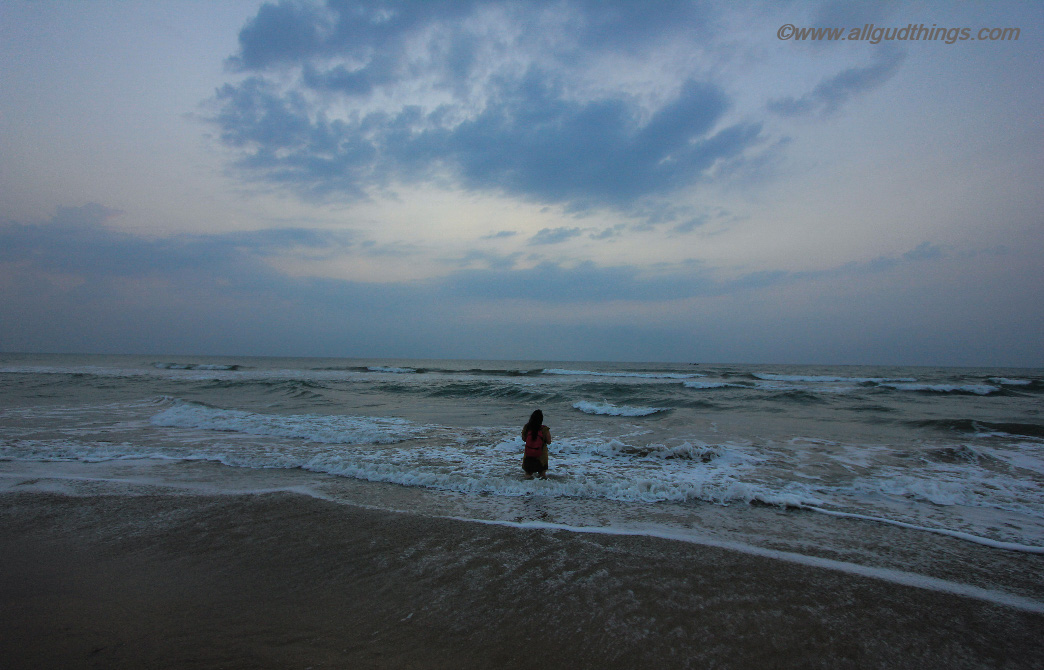 Waiting For Sunrise at Private Beach of Chariot Beach Resort Mahabalipuram