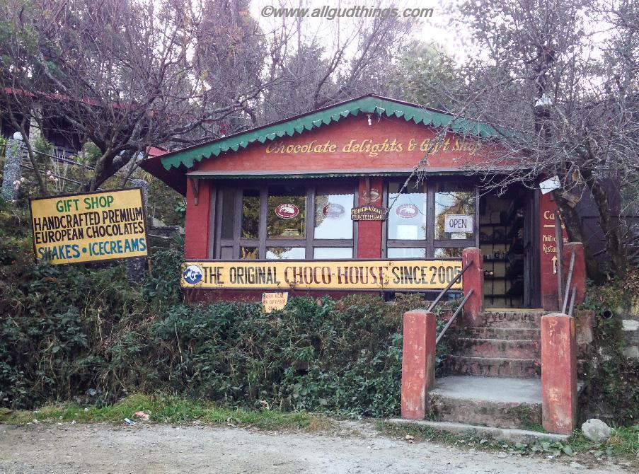 Choco House in Mukteshwar town