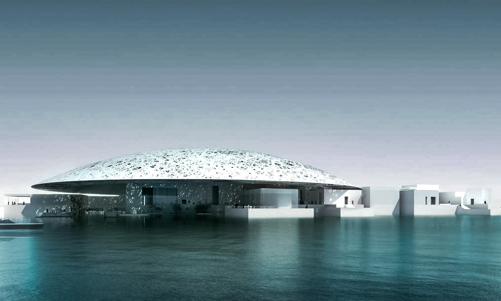 Louvre Abu Dhabi- Top attractions of Abu Dhabi