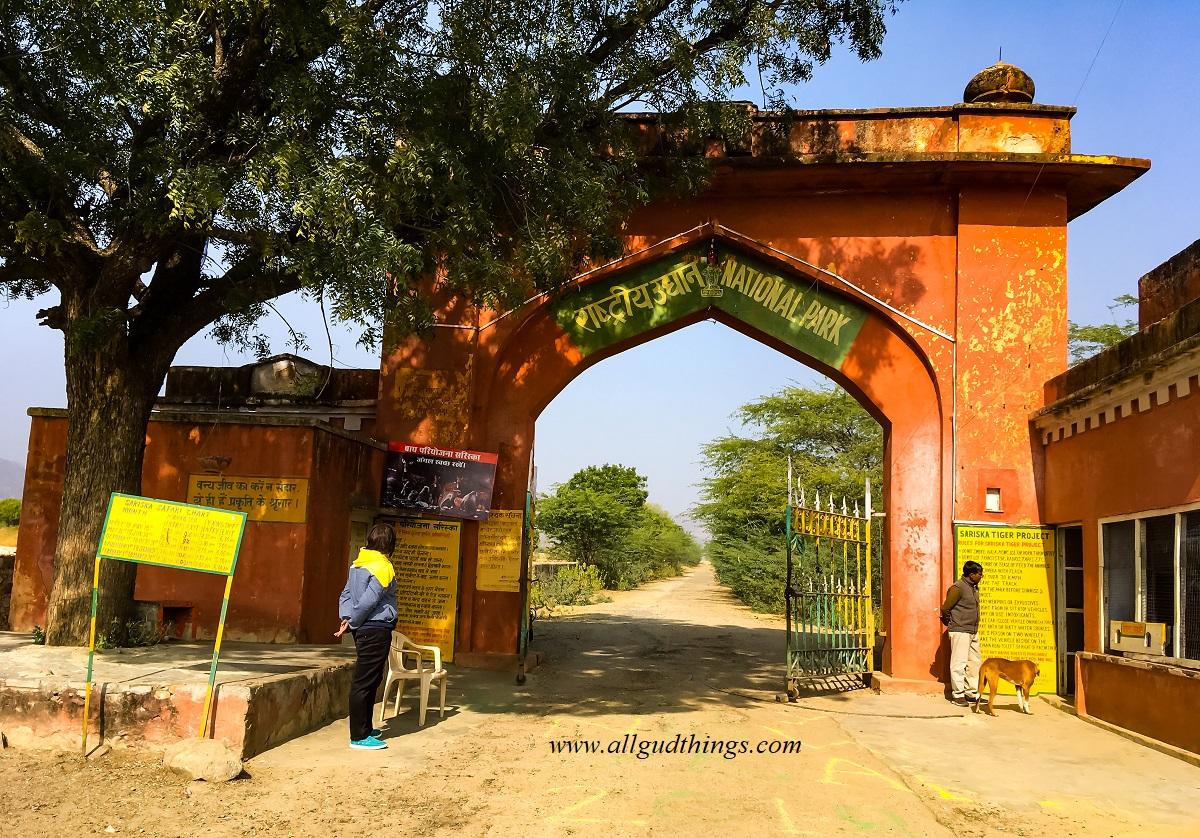 Tehla Gate - Sariska Tiger Reserve
