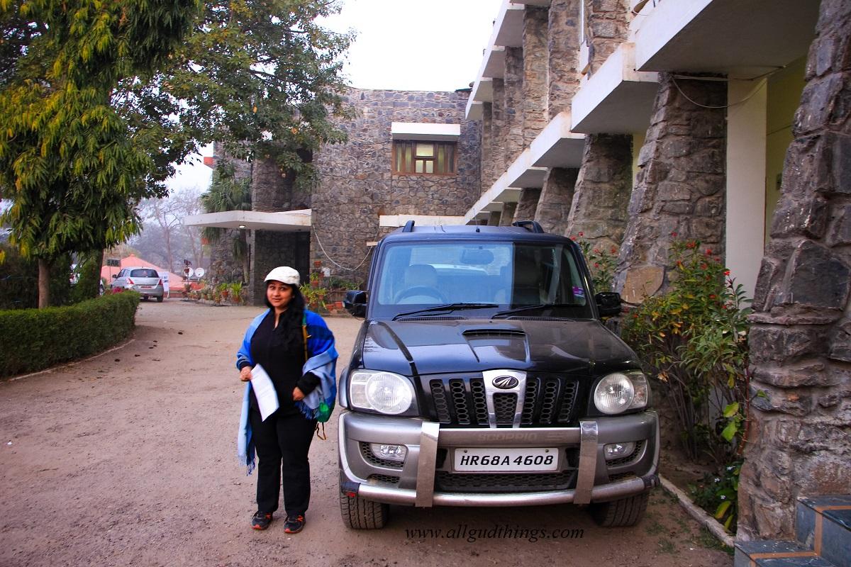 The Tiger Den Hotel - Sariska Tiger Reserve