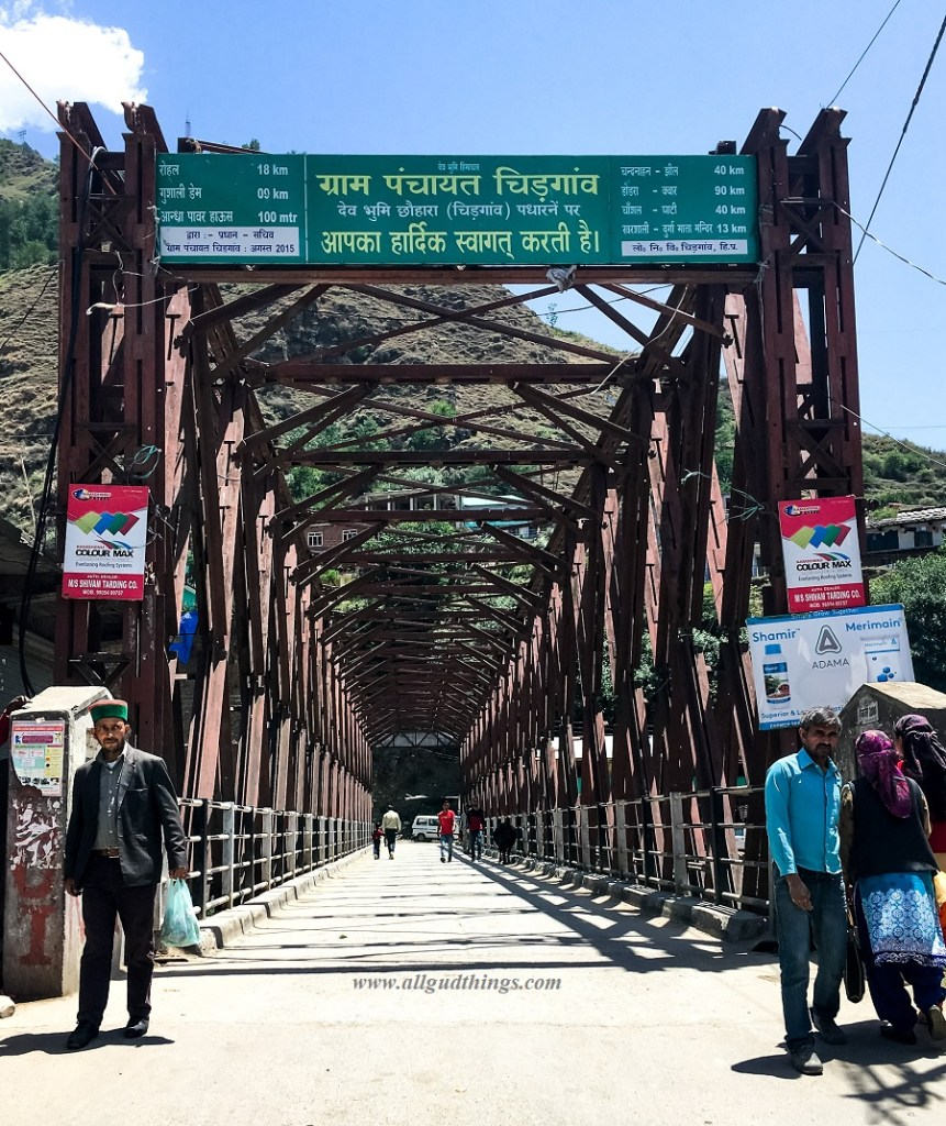 Chirgaon Bridge - On the way to Chanshal Pass