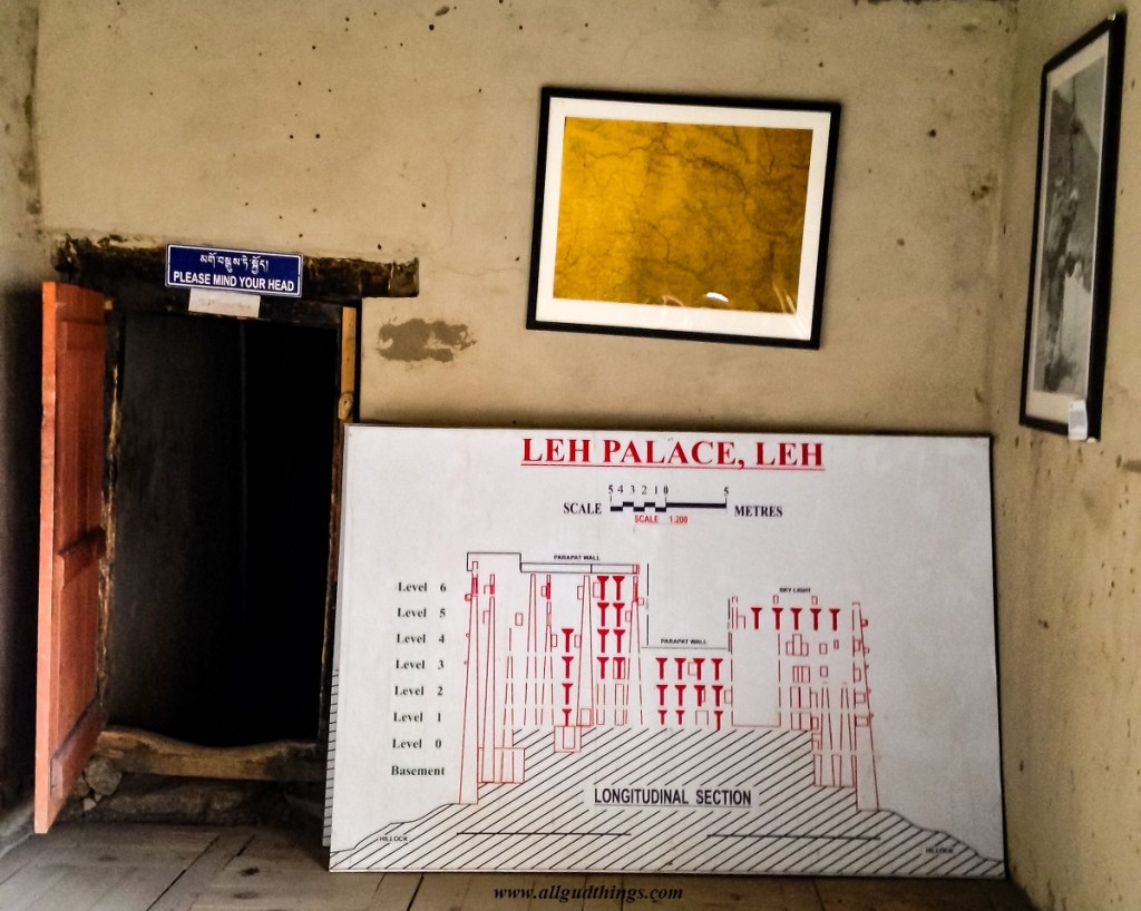 Leh Palace Drawing