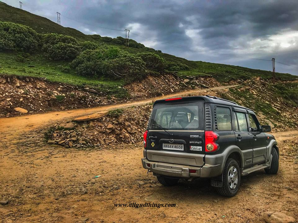 On the way to chanshal Pass