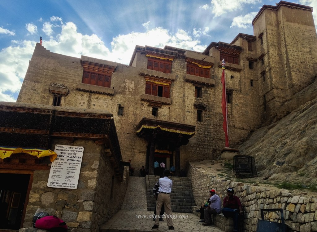 The First Look of Leh Palace