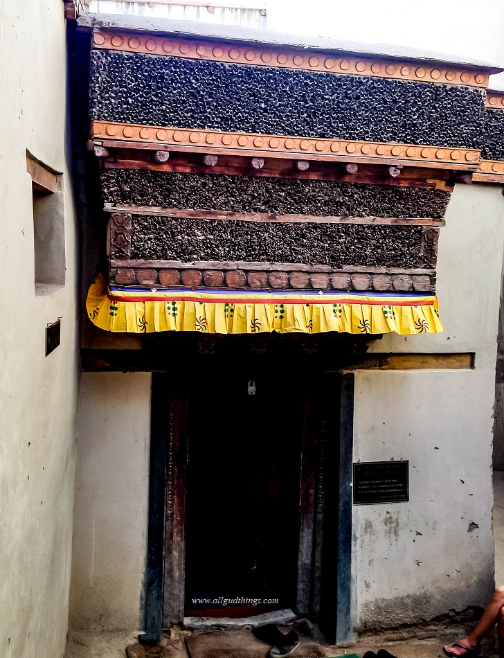 The Royal Temple or Duk – Kar- lakhang in Leh Temple