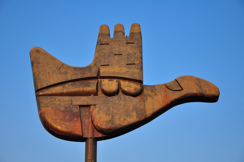 Open Hand Monument - Official symbol of Chandigarh