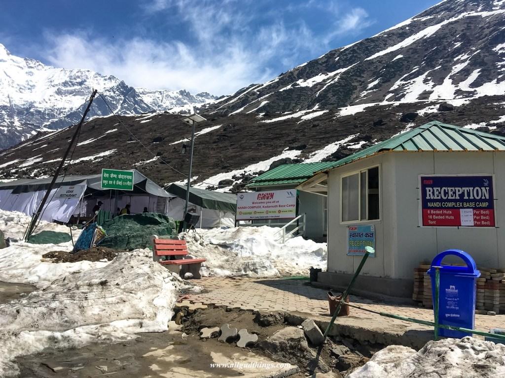 GMVN Accommodation at Kedarnath Base Camp