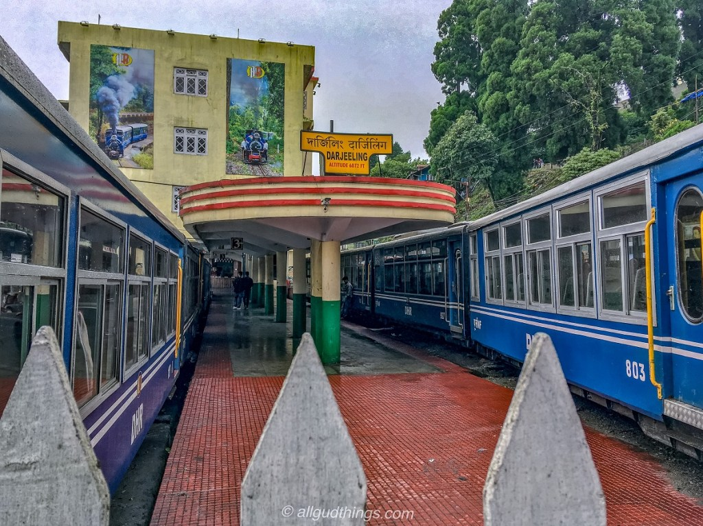 Darjeeling Toy Train Station.