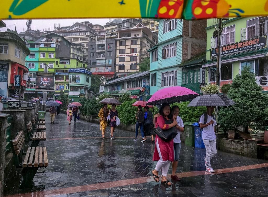 MG Marg Gangtok Sikkim India