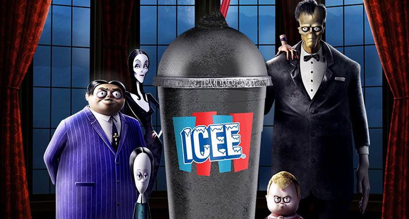Amc S New Addams Family Inspired Spooky Black Cherry Icee Is Goth Af All Hallows Geek