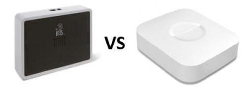 SmartThings vs Iris