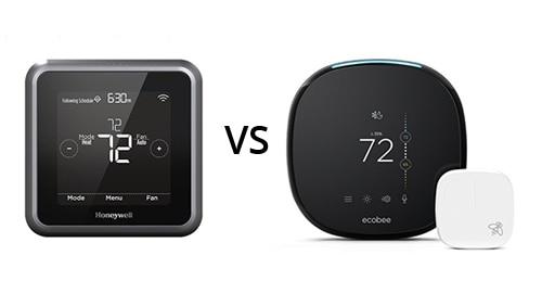 Ecobee4 vs. Honeywell Lyric T5 Wi-Fi Thermostat