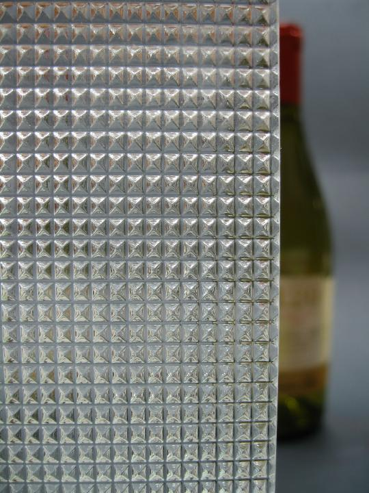 Clear Pattern Glass