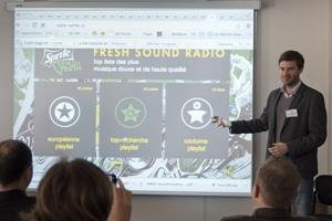 Les Rencontres de la radio 2.0 2014 ont investit les locaux de La Maison de la radio. © RR20