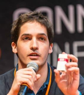 Séverin Marcombes, fondateur et président de Lima. © Connected conference