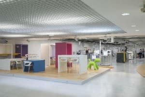 La Cité de l'Objet Connecté est installée sur 2000 m². © Thierry Bonnet/Ville d'Angers