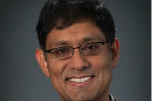 Prith Banerjee, Chief Technology Officer de Schneider Electric. © Alex Claney Photography, inc.