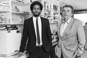 Pierre et Alain Dessein, fondateurs de GenePred. © GenePred