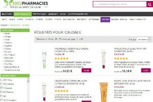 1001pharmacies et Caudalie (Article)