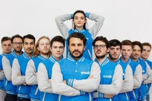 L'équipe de Trusk. © Trusk
