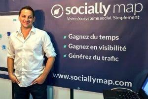 Florent Hernandez, fondateur de Sociallymap. © Alhena conseil