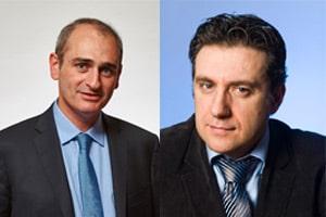 De gauche à droite : Éric Lévy-Bencheton, Blockchain Strategist - Keyrus & Frédéric Maserati, Directeur Conseil - Keyrus Management