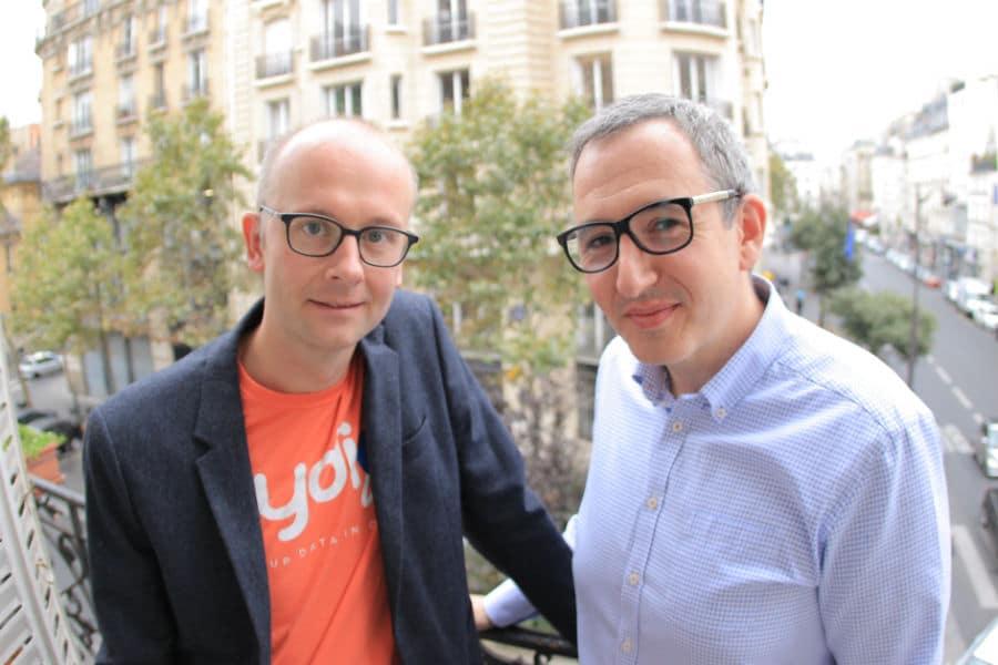 Les fondateurs de Pydio. © Pydio