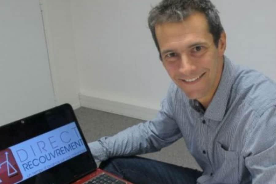 Philippe Bernis, concepteur de Recouvreo. © Diretc Recouvrement