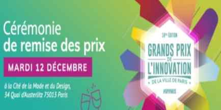Grands Prix de l'Innovation  de la Ville de Paris 2017