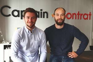 avec Philippe et Maxime Wagner, co-fondateur et aujourd'hui dirigeants de l'entreprise