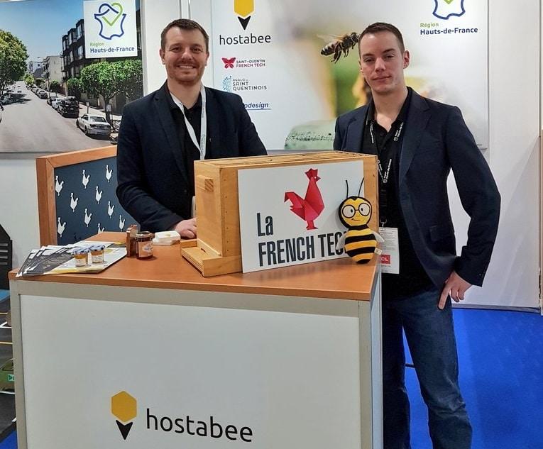 Hostabee met à disposition des apiculteurs les données sur la vie des abeilles. ©DR