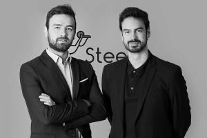 Pierre Guérin et Mathieu Lomazzi  ont lancé Steedy en janvier dernier. ©Steedy