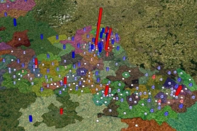 La Région Ile-de-France développe sa plateforme de données 3D