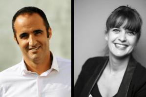 David Castéra, fondateur de TANu Digital et Hélène Zapata, directrice Assessment de FuturSkill.
