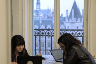Début janvier, la société Dydu a emménagé dans de nouveaux locaux près de la Seine.