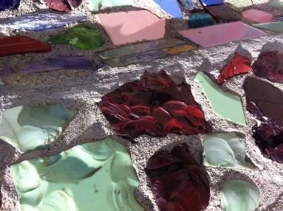 Broken Glass Mosaic: Watts Towers