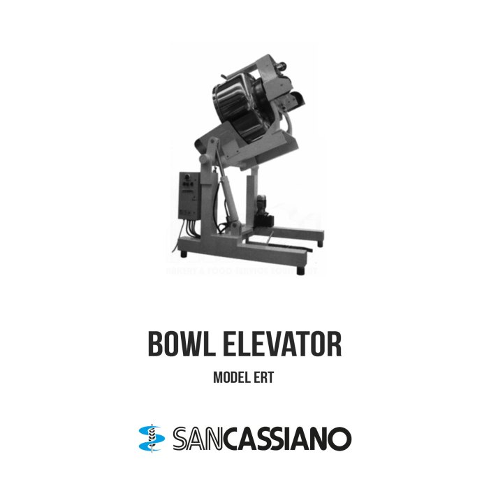 SANCASSIANO-Bowl-Elevator-ERT