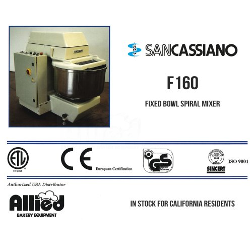sancassiano-f160-fixed-bowl-mixer