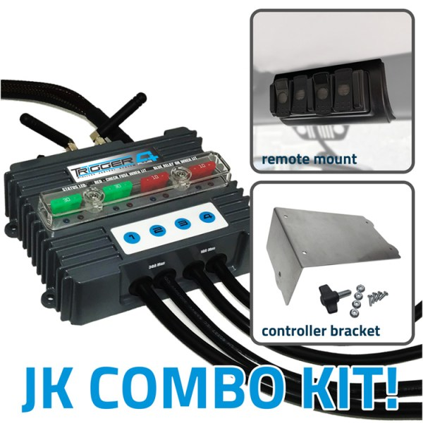 TRIGGER 4 PLUS Wireless Controller Combo Kit Jeep JK