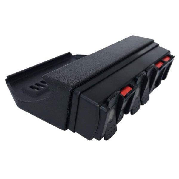 TRIGGER 6 SHOOTER Jeep JL Overhead RF Remote Bracket 05