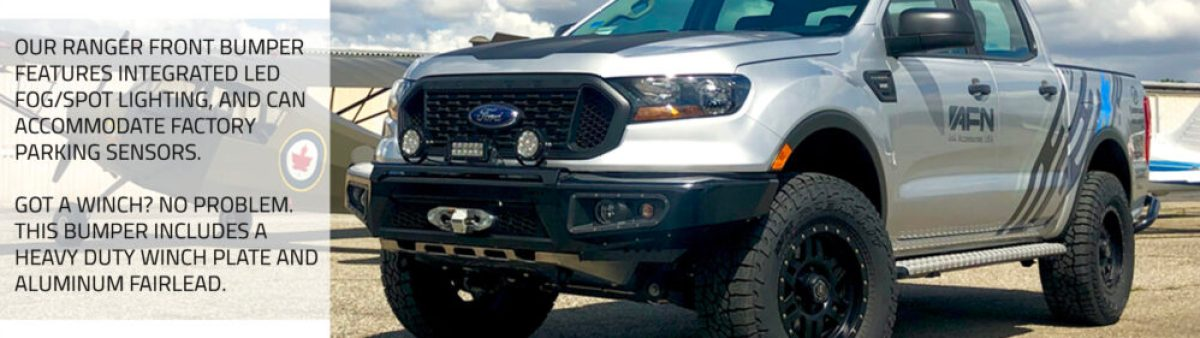 Ford Ranger Accessories by AFN 4x4 at Corona airport