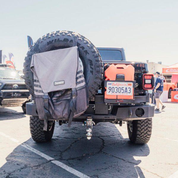 48002673 Jeep Wrangler-Gladiator Rear Bumper 2