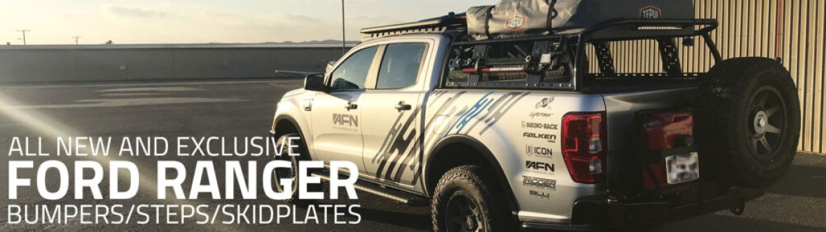Ford Ranger AFN Bumpers Steps Skidplates | Allied Expedition