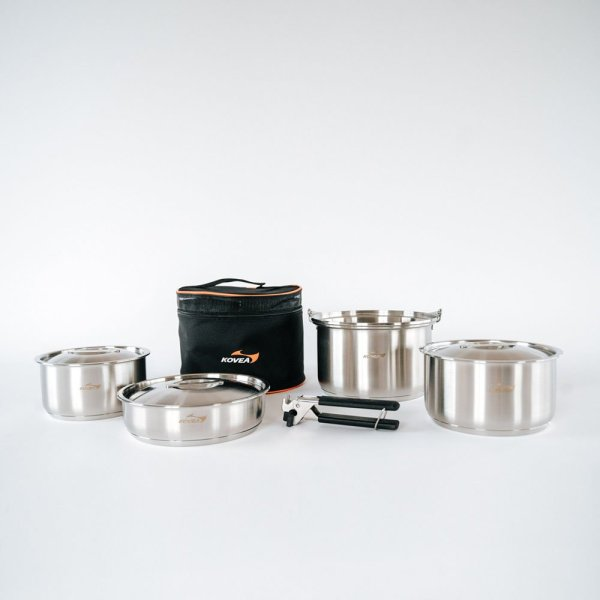 Kovea Triple Stainless Cookware 02 :: Allied Expedition